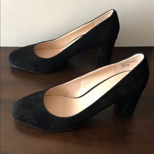 J. Jill Black Suede Shoes
